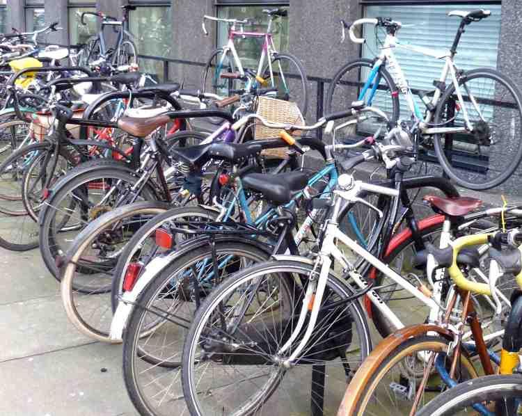 Bikes at the RCA