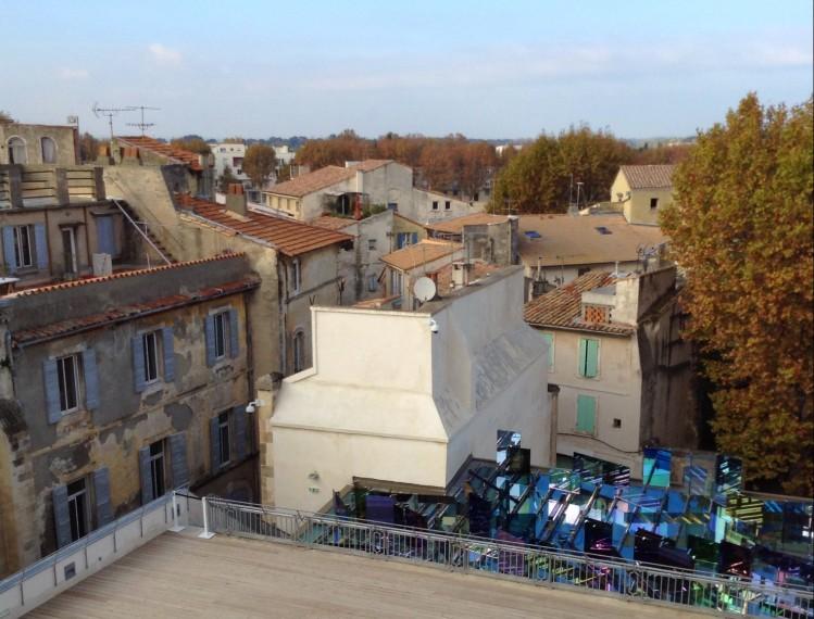roof top Fondation Vincent Van Gogh Arles