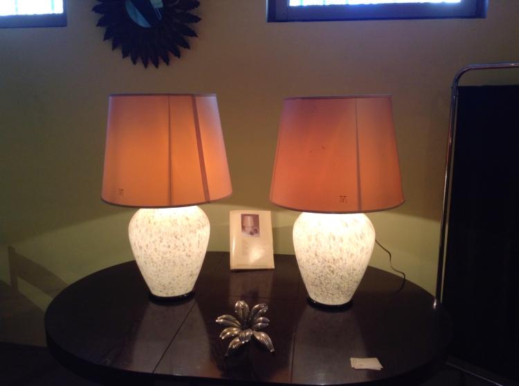 glass light bases