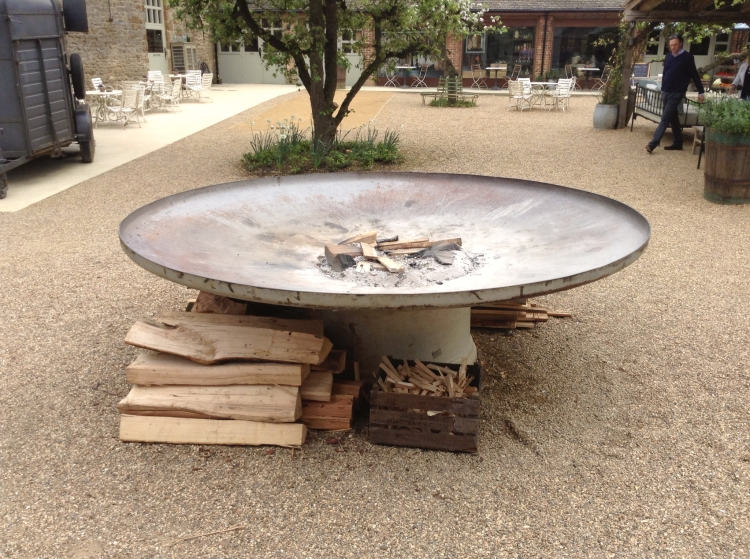Soho Farmhouse fire dish