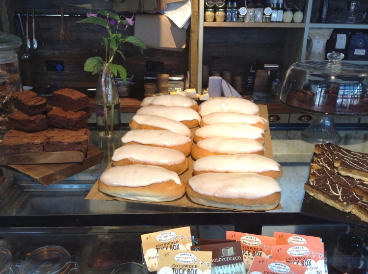 Soho Farmhouse deli, iced buns