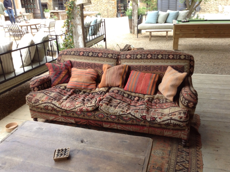 Soho Farmhouse farmyard sofa