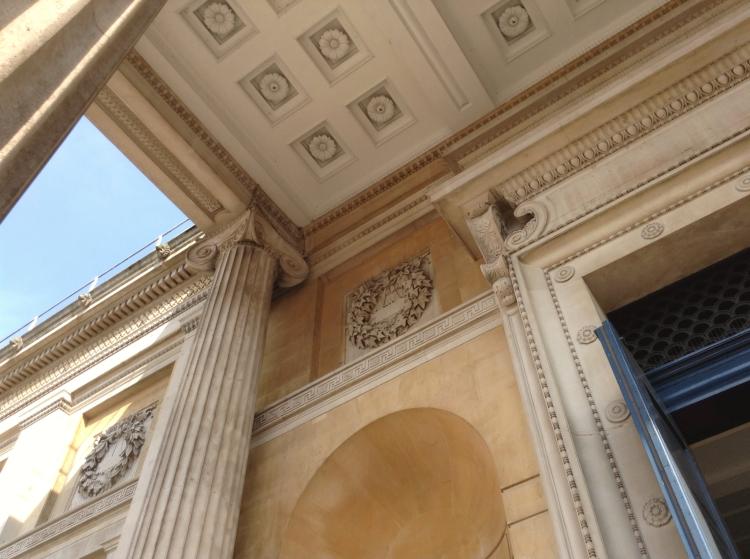 The Ashmolean Museum exterior