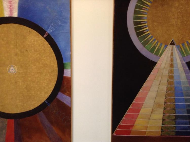 The space in-between - Hilma af Klimt at The Serpentine Gallery