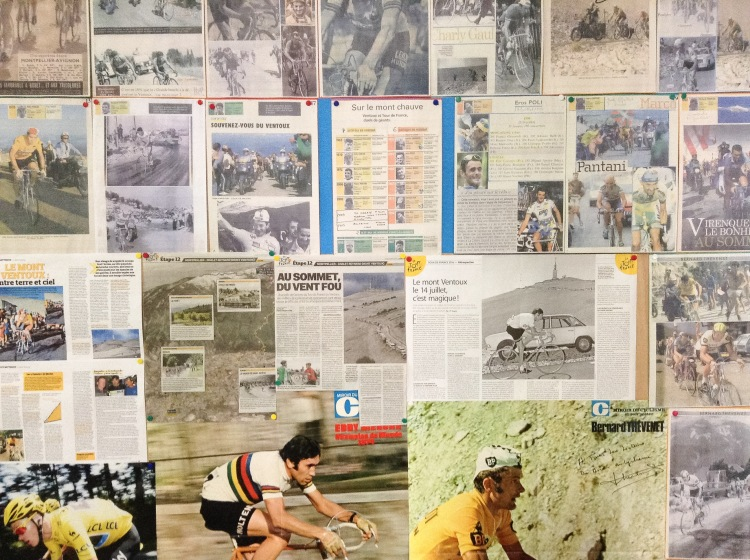 Cycling wall of fame